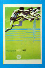 MUNCHEN 72-Figurina-Stickers-Panini-MANIFESTO N° 7- recuperata
