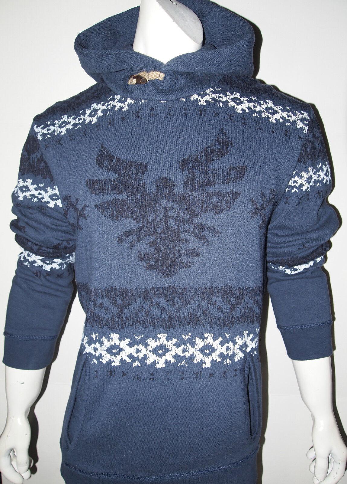 Buffalo by David Bitton native American design Herren hoodie new ON SALE