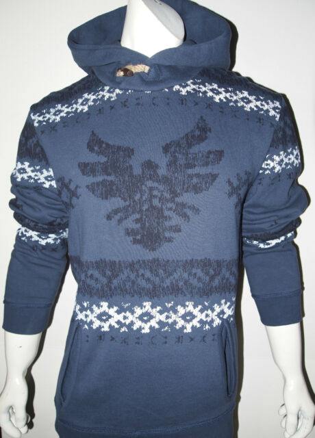 Buffalo by David Bitton native American design men's hoodie new ON SALE