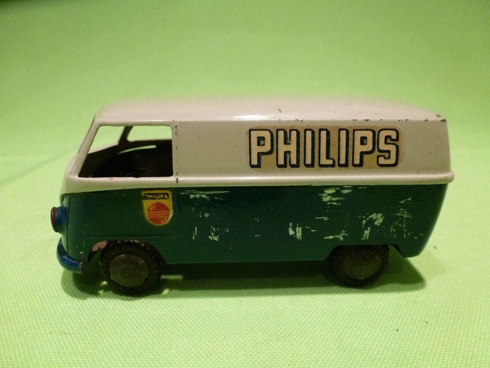 TEKNO DENMARK    1:43   VOLKSWAGEN BUS  -  PHILIPS   - VW BUS   IN GOOD CONDITION f50d31