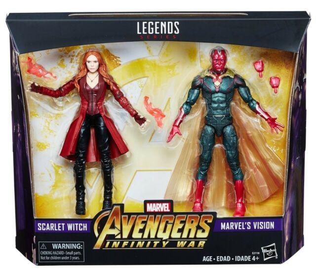 Marvel Legends 3 Pack AVENGERS VISION mip New action figure