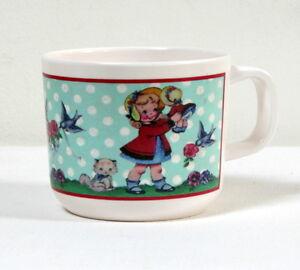 Tasse-melamine-style-retro-034-Petite-fille-034