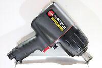 """Suntech 1"""" Drive Pneumatic Air Impact Wrench Twin Hammer 1500 Ft-lb Torque"""