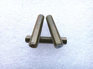 Aimable M6x30mm Nozzle Throat Stainless Steel Tube For 3d Printer Extruder 1.75mm MatéRiaux De Haute Qualité