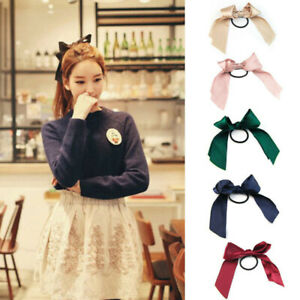 6Pcs-Hair-Cute-Elastic-Rope-Hair-Accessories-Ties-Hair-Girl-Band-Bow-Ribbon