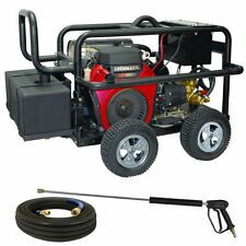 BE Professional 5000 PSI Belt-Drive (Gas Cold Water) Pressure Washer w/ GX690...