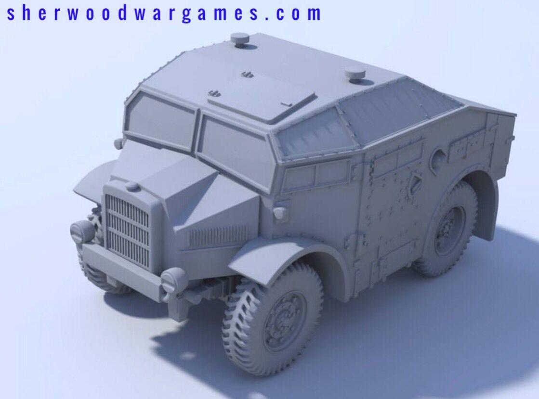 1 48 British Morris C8 Quad Mk1, Blitzkrieg Miniatures WWII Bolt Action, BNIB