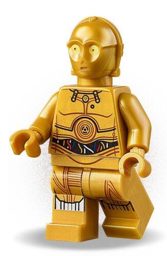 Minifigs-Star Wars-sw700-C-3PO 75228 Lego ®