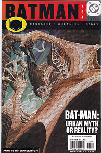 BATMAN #584 VF/NM