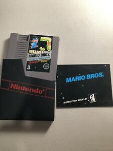 Nintendo-NES-The-Original-Mario-Bros-Arcade-Classics-Series-w-Manual-Tested