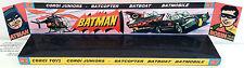 Custom Display Stand for CORGI Juniors Batman BATMOBILE - BATCOPTER - BATBOAT