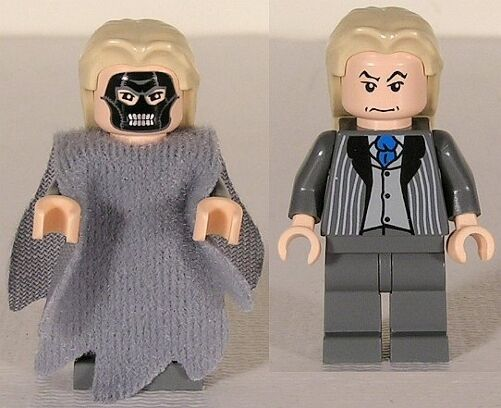 LEGO 4766 - HARRY POTTER - Death Eater, Dementor Style Cape - Mini Figure