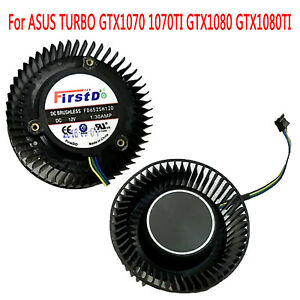 DC12V 1.30A Graphics Card Turbo Lüfter Cooling Fan für ASUS TURBO GTX1070 1070TI