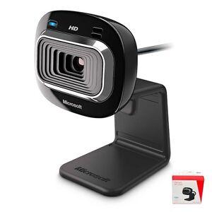 Details about Microsoft LifeCam HD-3000 Web Camera HD 720P PC WebCam USB  Windows XP,7,8 NEW !!