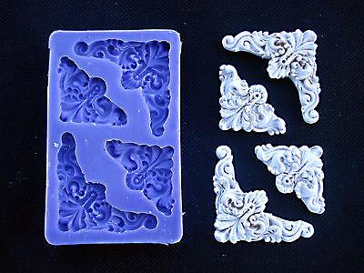 Silicone Mould ANGULAR ORNAMENTS Sugarcraft Cake Decorating Fondant / fimo mold