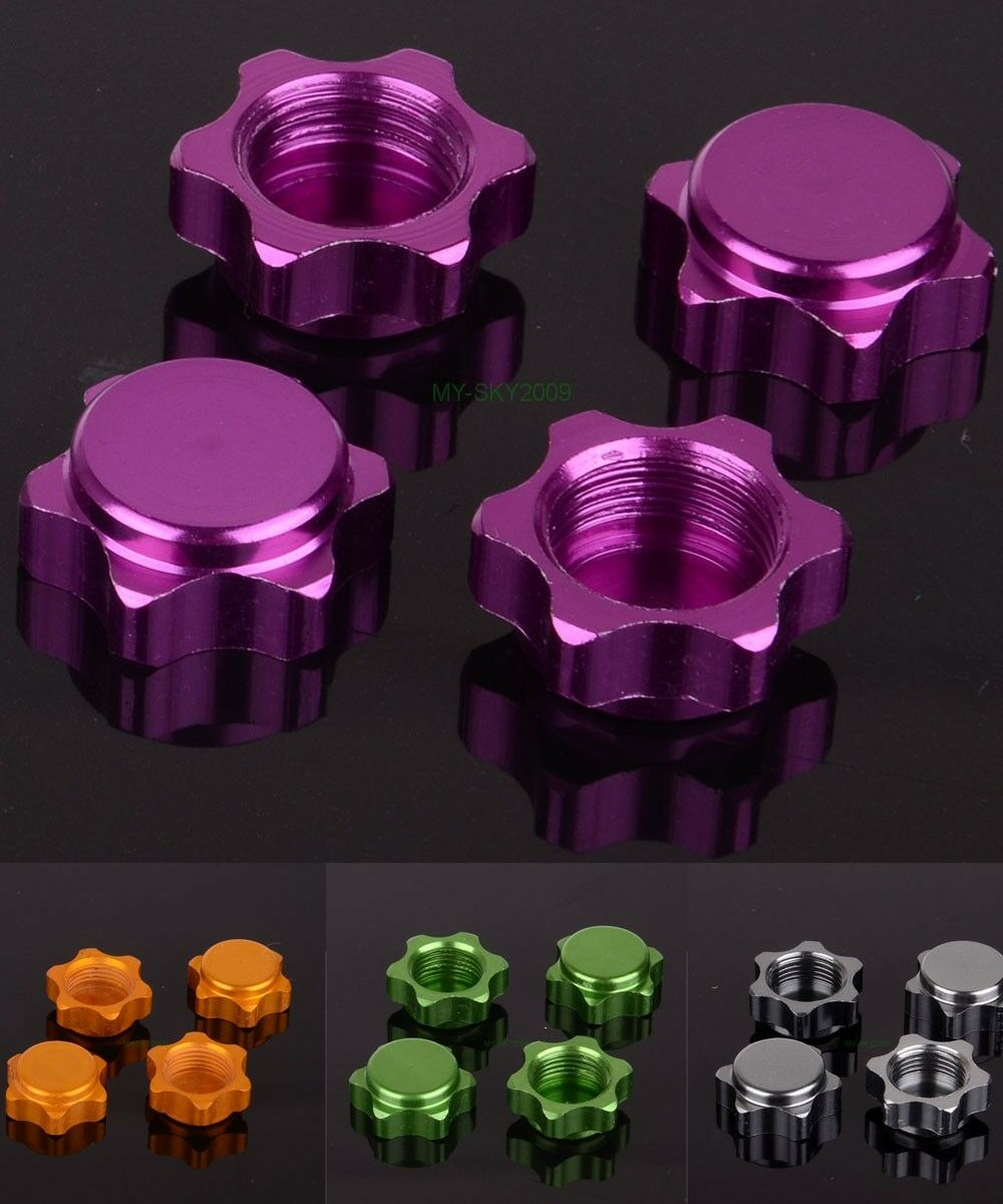 1/8 RC CAR Dust Proof 17MM Wheel Hub Nuts Cover Buggy Truggy Truck Rims 80123