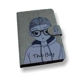 Boy-Pattern-Motif-PU-Flip-Travel-Carry-Case-Book-Cover-for-Google-Nexus-7-UK