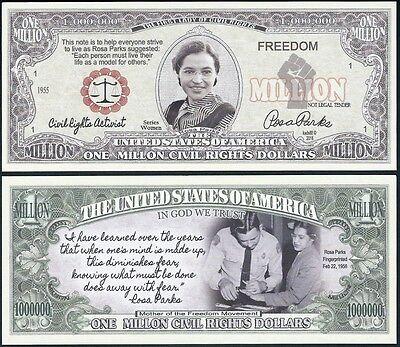 FREE SLEEVE Twas Night Before Christmas Million Dollar Bill Fake Funny Money