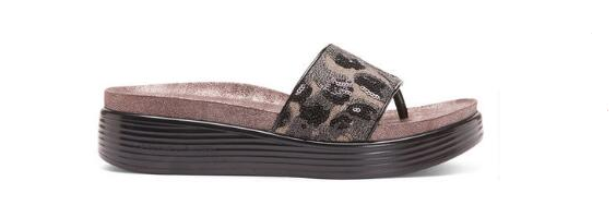 Donald Pliner Fifi 18-RU Rustic Brocade Black Sandal Women's Sizes 6-10  NEW