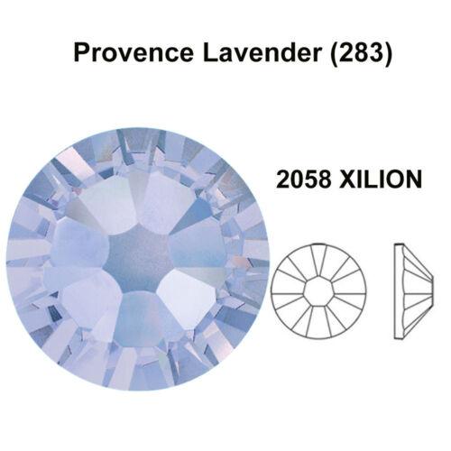 PROVENCE LAVENDER Genuine Swarovski 2058 /& 2088 Flat back Rhinestones *All Sizes