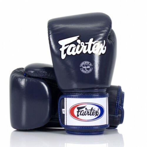 Fairtex BGV1 Fairtex Blue Universal Gloves Blue//White//Black 14 oz