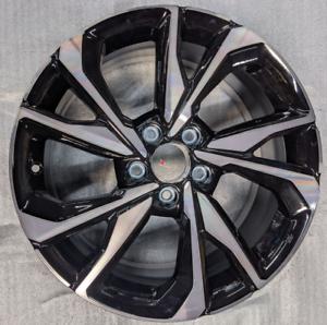 "17 18 19 20 Honda Civic 18"" x 8"" Aluminum Black OEM Original Wheel 64108"
