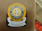 VINTAGE AUS BEER LABEL. COOPERS & SONS BEST EXTRA STOUT 375 ML #2