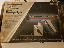 Vintage Sears Craftsman Inductive Timing Light Model 2134 Manual Box Free Ship