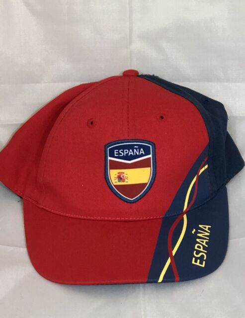 be2ac2496ca Men s Spain Espana FIFA World Cup Penalty Spot Soccer Football Cap Hat Red