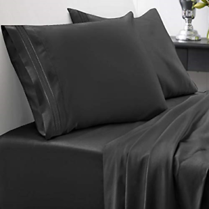 BBGM COLLECTION 100/% EGYPTIAN COTTON SHEET SET KING SIZE COLOR OPTIONS