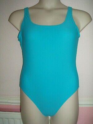 Accurato Plain Blu Profondo Back Costume Da Bagno Taglia 16 George- I Consumatori Prima