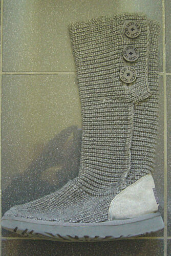 Rrp Buttons 6 Size 5 Wool Classic Ugg Australia Cardy With £125 Boots Grey Uk 7SBq4