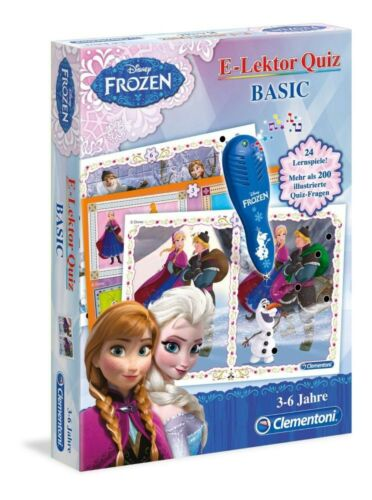 Eiskönigin E-Lektor Quiz Basic Lernspiel NEU learning game NEW Frozen