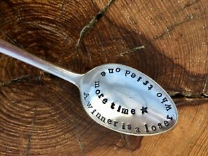 Stamped-spoon-A-winner-is-vintage-hand-stamped-xmas-quote-spoon-gift