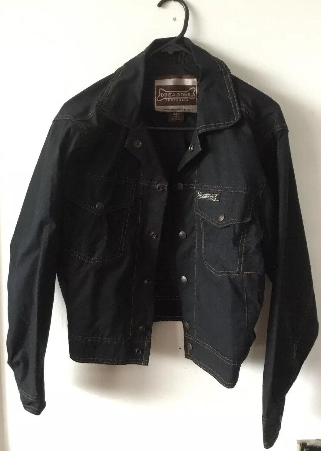 Fantastic New Driza Bone Cotton Oiled Jacket Size 3, Xs, Ch 95 Cm