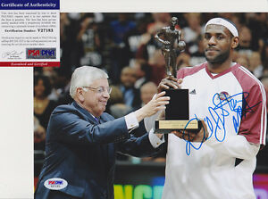 DAVID-STERN-NBA-COMMISSIONER-SIGNED-AUTOGRAPH-8X10-PHOTO-PSA-DNA-COA-V27183