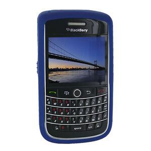 NEW-OEM-Dark-Blue-Gel-Rubberized-Skin-Blackberry-Onxy-Bold-9700-9780