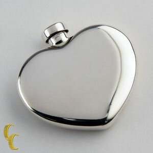Tiffany-amp-Co-Vintage-Sterling-Silver-Heart-Shaped-Perfume-Bottle-Flask