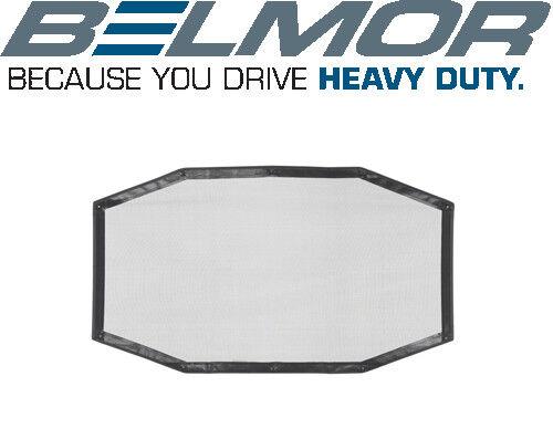 Belmor BS-2176-1 Black Bug Screen Truck Grille Cover for 2003-2017 Volvo VNL