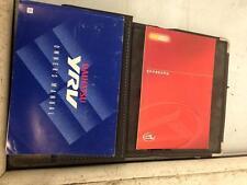 2001 DAIHATSU YRV 1.3 HANDBOOK AND DRIVERS OWNERS MANUAL WITH WALLET