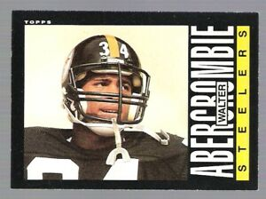 6-WALTER-ABERCROMBIE-FOOTBALL-CARDS-INCLUDES-HIS-ROOKIE