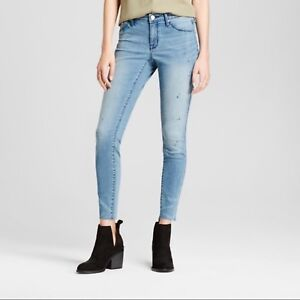 Mossimo-Misses-Womens-Power-Stretch-Mid-Rise-Jeggings-Skinny-Jeans