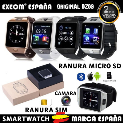 Reloj Inteligente DZ09 Bluetooth Smart Watch para Android iOS Samsung LG