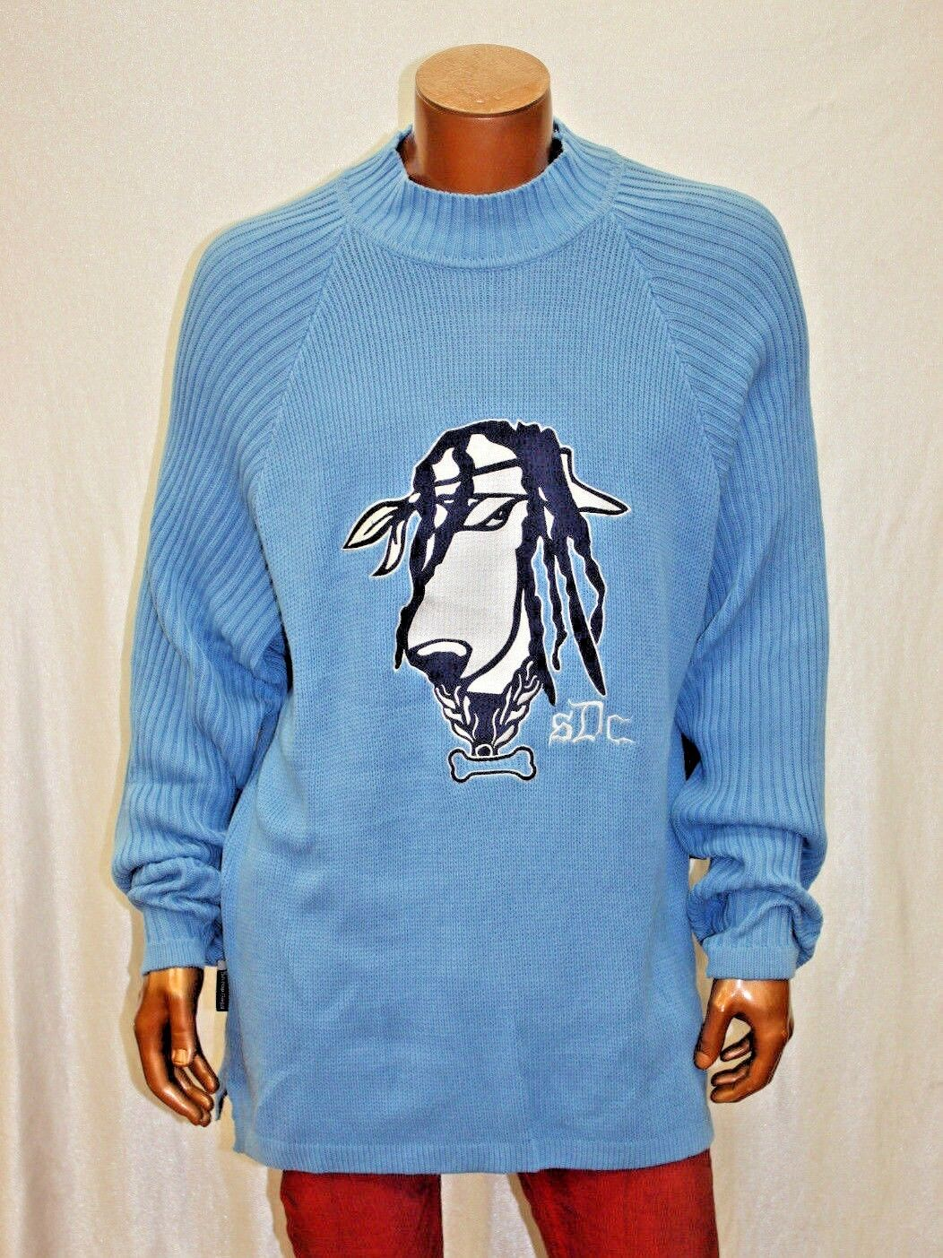 Men's Snoop Dogg  Lt.bluee Sweater