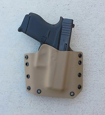 OWB  Dark Earth Kydex Holster Glock 43
