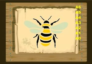 Bumble-bee-350-Stencil-micron-Mylar-not-thin-stuff-Bee01