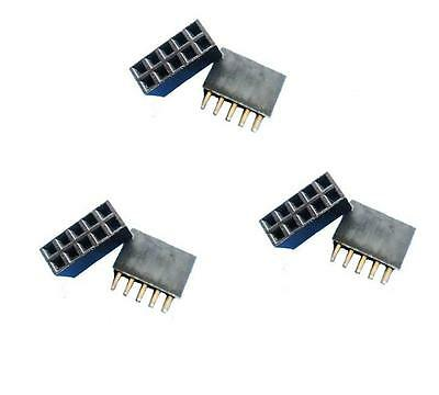 20pcs New Double Row 2.54 mm 2x5 pin Female pin header NEW