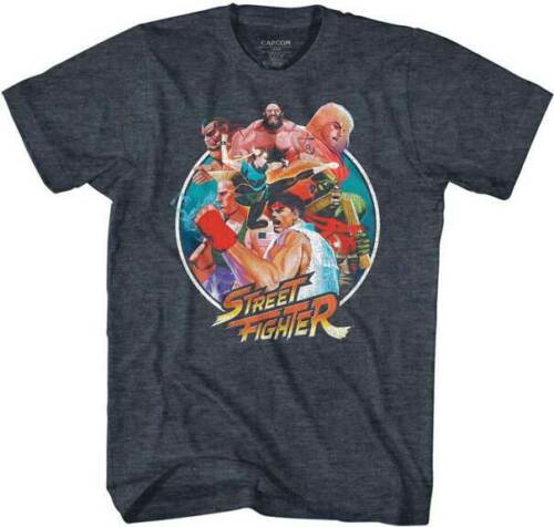 Pre-Sell Street Fighter Capcom Video Game Licensed T-Shirt