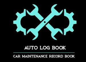 car maintenance record book auto log book repair journal journey