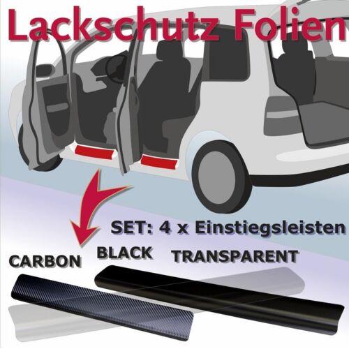 Citroen C4 Aircross  Einstiegsleisten Lackschutzfolie Schutzfolie carbon 2259
